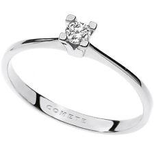 anello donna gioielli Comete Solitario elegante cod. ANB 1684