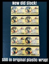 20 Vtg Advertising Matchbooks Lufkin Industries Oil Derrick Pump Equipment NOS