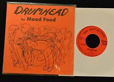 HEAR IT INDIE Athens Georgia Group Mood Food Drumhead parts 1 and 2 dated 1981