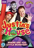 Justin's House: Where Are You Little Monster? [DVD][Region 2]