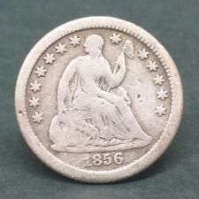 USA 1856 HALF DIME SILVER COIN