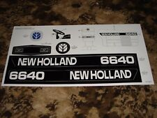 Decal for New Holland 6640 Pedal Tractor - new NOS
