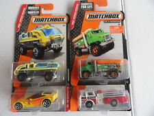 MATCHBOX FIRE 75 MACK CF  & OTHER EMERGENCY VEHICLES SET OF 4 # 42