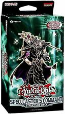 Konami Yu-Gi-Oh Spellcaster's Command Structure Deck, New, Free Shipping