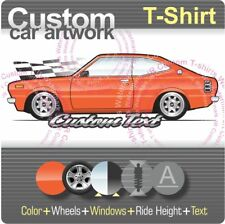 Custom T-shirt 1974 75 76-81 Toyota Corolla Ke55R Te37 SR5 DX Ke35R Coupe Levin