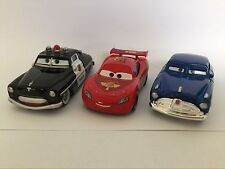 MT Cars 2 McQueen & Sheriff & Doc Hudson Diecast Toy Car 1:55 Loose Kids Vehicle