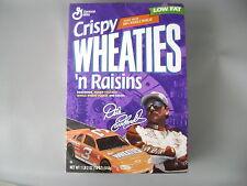 DALE EARNHARDT SR #3 1997  CRISPY WHEATIES 'N RAISINS CEREAL BOX-STILL SEALED