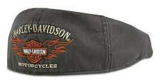 Cappello Ivy Harley-Davidson ® Flame Graphic Grey 99537-11VM Idea Regalo Tg S