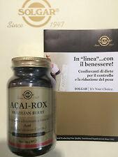 SOLGAR ACAI ROX 60 PERLE SOFTGELS - controllo del peso antiossidante