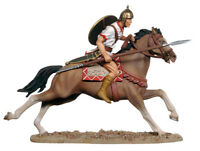 BLACK HAWK BH316 ROME CARTHAGE IBERIAN CAVALRY Painted Metal Soldier FREE SHIP
