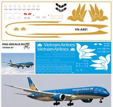 1/144 PAS-DECALS. ZVEZDA. Revell BOEING 787-900 Vietnam Airlines