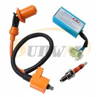 Ignition Coil Spark Plug CDI for GY6 50cc 125cc 150cc Scooter Performance Racing