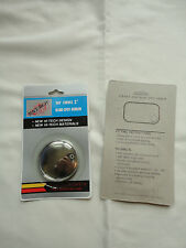 """2"""" BLIND SPOT MIRRORS X 2 TOUGHENED OPTICAL LENS FOR SUPERB ACCURACY CAR OR VAN"""