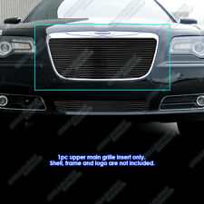 Fits 2011-2014 Chrysler 300/300C Black Billet Grille Grill Insert