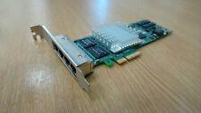 IBM Intel PRO/1000 PT Quad-Port PCIe Server Adapter Card 39Y6138 39Y6137
