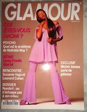 Vtg French Glamour 1993 Naomi Campbell Lenny Kravitz Kate Dillon Charlie Chaplin