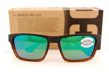 New Costa Del Mar Fishing Sunglasses HINANO Coconut Green Mirror 580G POLARIZED