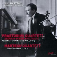 MARTEAU QUARTETT/+ - HENRI MARTEAU,VOL.3: QUINTET,OP.13 & QUARTET   CD NEW