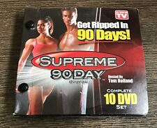 Supreme 90 Day System - 10 DVD Set Get Ripped In 90 Days Workout As Seen On TV