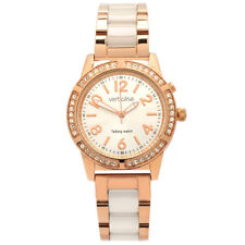 New 42 sparkling Swarovski crystals Rose Gold Plated Ladies Talking Watch, Blind