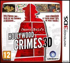 Jeu 3DS JAMES NOIR'S HOLLYWOOD CRIMES 3D