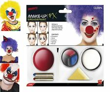 Smiffy's Clowns & Circus Costume Face Paint & Stage Make-Up