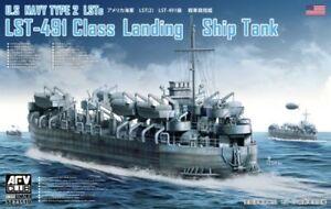 AFV Club 1/350 Type 2 LST, LST-491 Class Landing Ship Tank  #SE73519 #73519