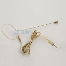 Single Hook Headset Mic YAM Beige EM1-C4SE Earset Mic For Sennheiser Wireless