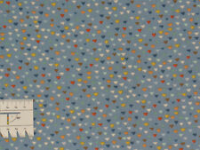 15,82€/m² => 25cmx110cm: BABY Triangles Blau - Patchworkstoff makower
