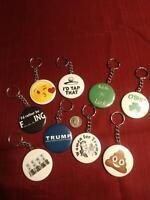 TRUMP MAKE AMERICA GREAT AGAIN! Keychain POLITICAL New