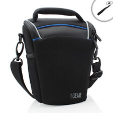 USA Gear Portable Top Loading Digital SLR Camera Bag for Sony & More