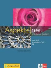 Aspekte neu B2. Lehr- und Arbeitsbuch mit Audio-CD. Teil 1 (Schulbuch) NEU