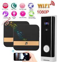 1080P HD Wireless WiFi Intercom Doorbell Security Bell Video Door Phone Camera