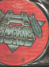 "H-bomb ""To Feel is pain"" 1985 Axe Killer PICTURE VINYL 12"""