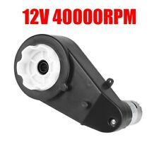 12V 40000RPM Getriebe Mit Motor Für RS550 Kinderfahrzeuge/Kinderauto Spielzeug