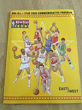 2003 NBA ALLSTAR COMMEMORATIVE PROGRAM - *MICHAEL JORDAN'S LAST GAME*