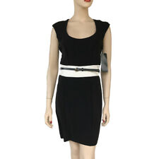 My Michelle Simply Slender Colorblock Belted Dress New Size 7 Junior Msrp