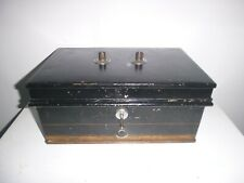 Vintage Milners Strong Box Safe with Key