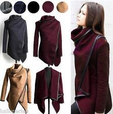 New Ladies Slim Winter Warm Trench Coat Long Wool Jacket Outwear Parka Cardigans
