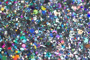 CHUNKY mixed Festival Glitter Face Eye Body Hair Cosmetic Nail Tattoo 1-2g Bag