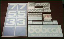 BOBCAT 753 Decals Stickers Full Set Kit SKID STEER Free Shipping Original Look!