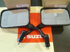 Genuine Suzuki New Pair Left Right Mirrors GSX750 GSX1000 GSX1100 SZ SD Katana