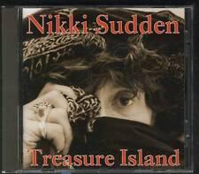 NIKKI SUDDEN Treasure Island CD SECRETLY CANADIAN SWELL MAPS