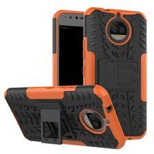 Carcasa híbrida 2 piezas EXTERIOR NARANJA Funda para Motorola Moto G5S Cubierta