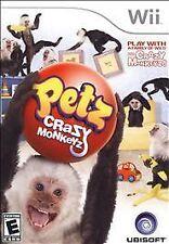 Petz: Crazy Monkeyz  (Nintendo Wii, 2008)