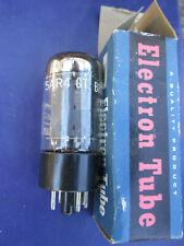 Vintage Mullard Gz34 5Ar4 Made in England Premium Vintage Tube Tests Strong