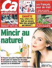 Ca M'interesse  N°386  avr 2013:Mincir au naturel Les francais pour de vrai