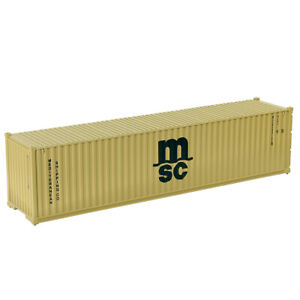 1pc/2pcs/10pcs HO Scale 1:87 40ft Shipping Container 40' Cargo Box Railway C8746