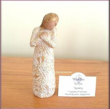 TAPESTRY FIGURE FROM WILLOW TREE® ANGELS FREE U.S. SHIPPING