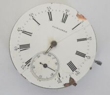 VINTAGE LONGINES MANUAL WIND POCKET WATCH MOVEMENT FOR REPAIR OR PARTS